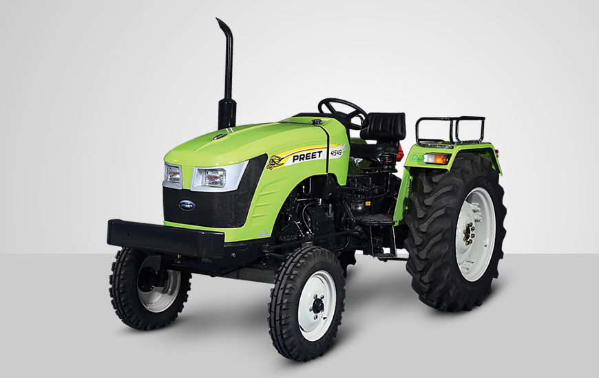 PREET 4549 - 2WD Tractor Features